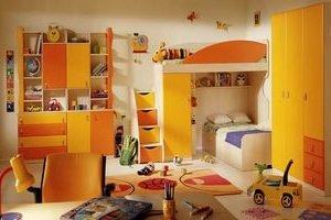Интерьер детской комнаты сделаем комфортным!