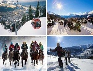 Куршевель - это целый мир горнолыжного курорта