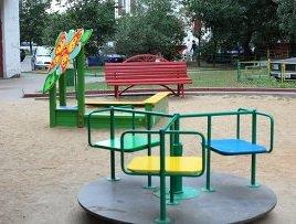 Безопасность во время игры на детской площадке.