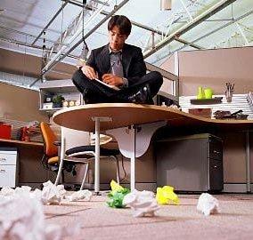 Нелюбимая работа приводит к эмоциональному выгоранию