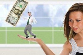 Покупки для мужчин часто делают женщины