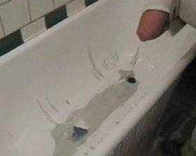 Как восстановить эмаль ванной
