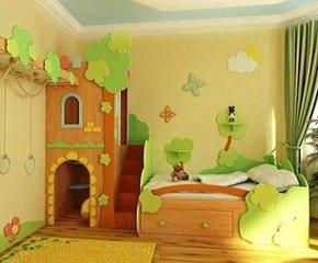 Каким должен быть интерьер детской комнаты