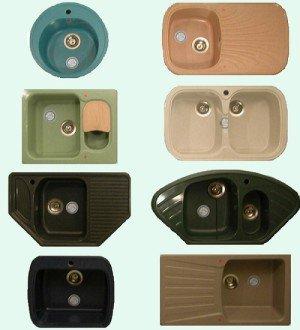Кухонные мойки - виды и отличия