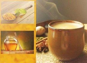 Золотое молоко с куркумой - рецепты