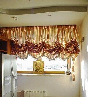 Как выбрать шторы для кухни или столовой