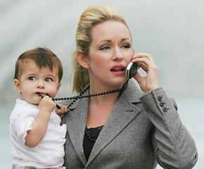 На работу после декрета, если ребенку нет 3 лет