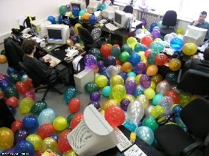 Праздник на работе