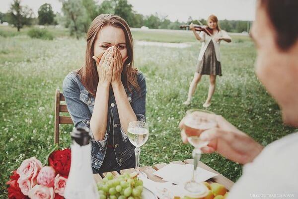 Как сделать предложение девушке выйти замуж.