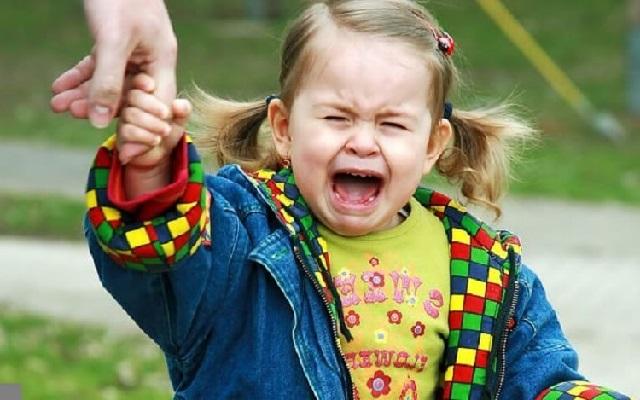 Боремся с детской истерикой