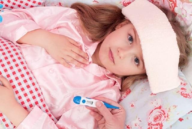 Как сбить температуру у ребенка.
