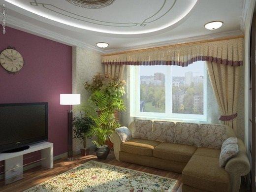 Дизайн интерьера квартиры и дома.