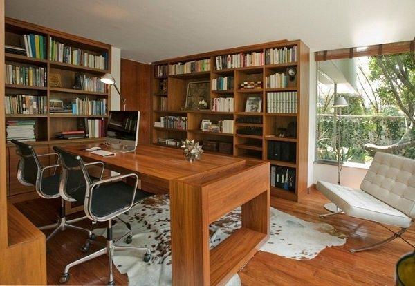 Домашний кабинет - идеи интерьера