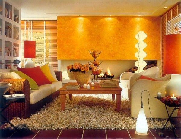 Освещение в интерьере жилья.