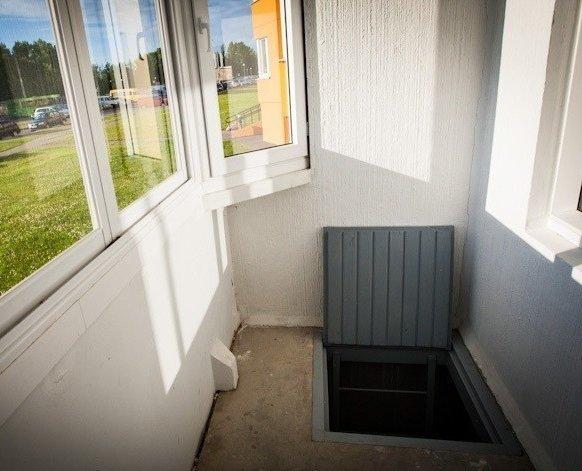 Погреб на балконе или лоджии первого этажа