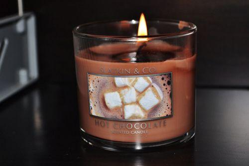 Как сделать свечу с ароматом шоколада.
