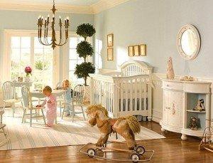 Детская для малыша и личное пространство