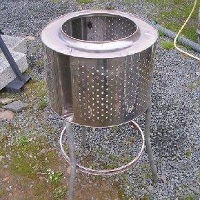 Как сделать барбекю из стиральной машины