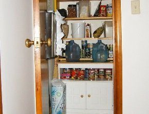 Кладовая в маленькой квартире