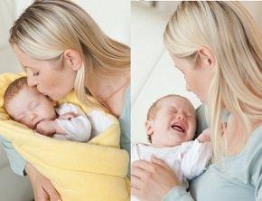 Новорожденный плачет - способы успокоить.