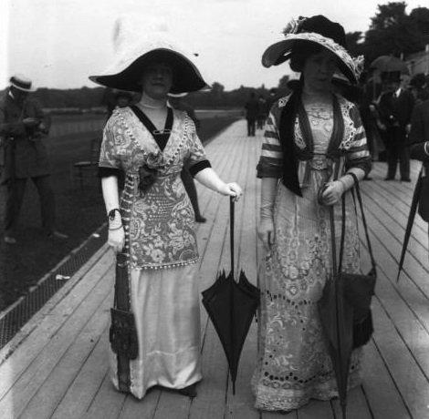 Показы мод 1911 год в Париже
