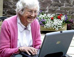 Веселая бабуля