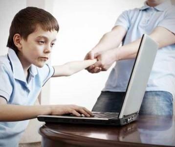 Зависимость ребенка от интернета.