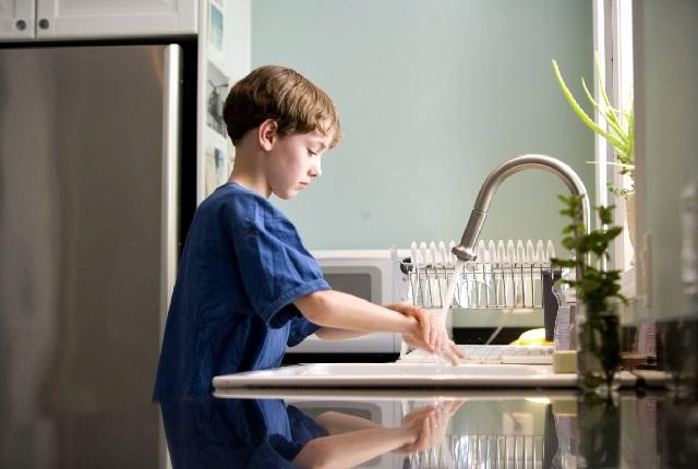 Гигиена и дети в доме.