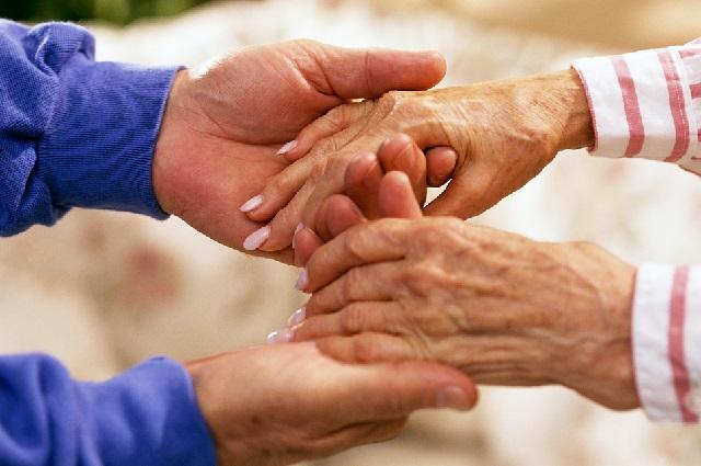 Забота о пожилых людях.