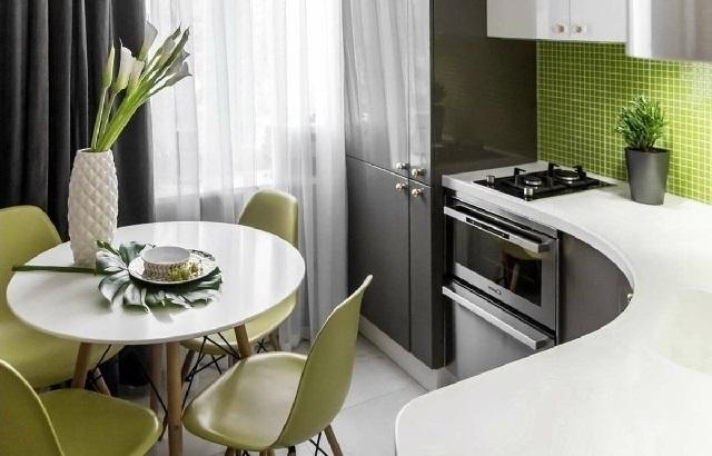 Идеи для маленькой кухни.