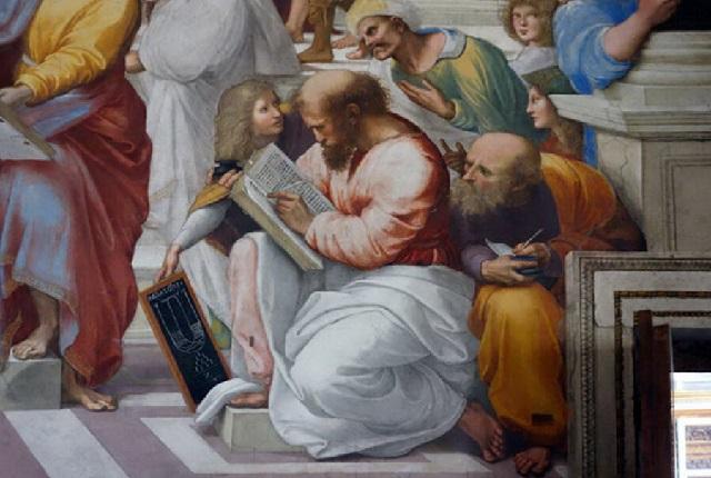 Пифагор математик и посвященный.