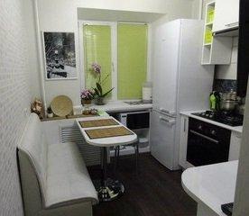 Идеи для маленькой кухни - Дизайн очень маленькой кухни