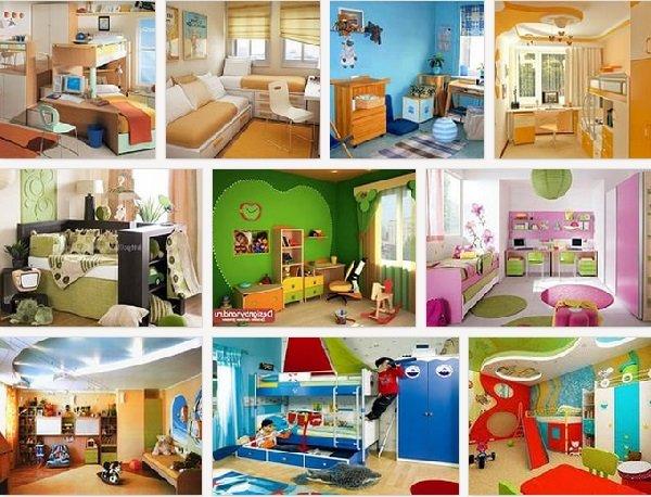 Интерьер детской комнаты – советы и психология