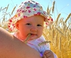 Медленно адаптирующийся годовалый ребенок