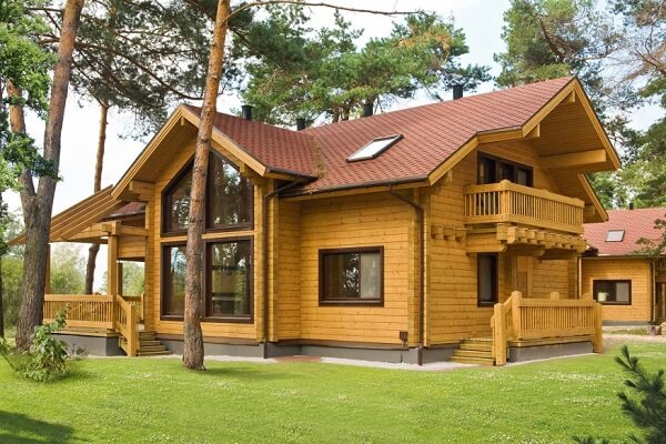 Почему деревянные дома из бруса являются лучшими?
