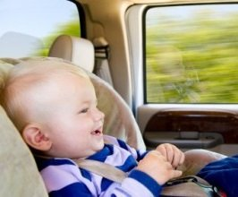 Путешествие с маленьким ребенком на машине.