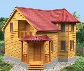 Строительство деревянных домов с эркером – эстетика и удобство!