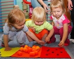 Упражнения для развития органов чувств детей.