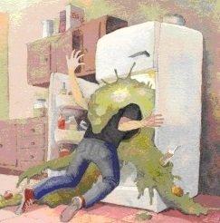 Воняет холодильник что делать