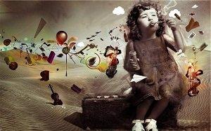 Воображение и чувство юмора маленьких детей