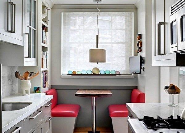 Декор маленькой кухни