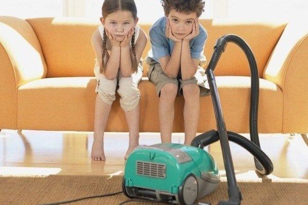 Как приучить ребенка к обязанностям