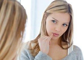 Как убрать простуду на губе без лекарств