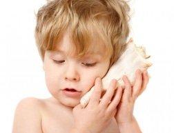 Нарушение слуха у маленьких детей