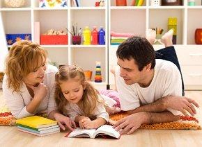 Обучение маленьких детей дома в семье