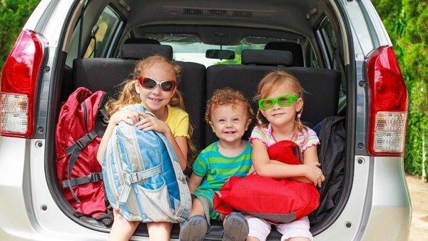 Путешествие на машине с маленьким ребенком