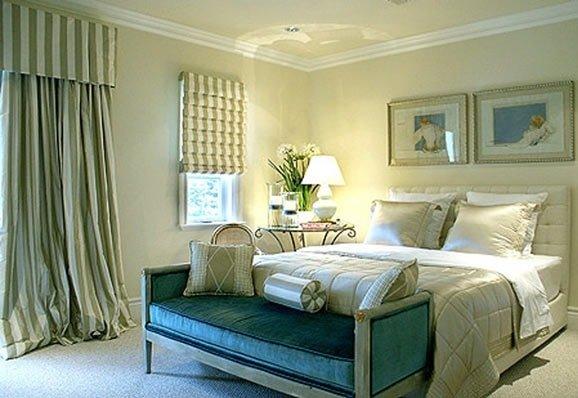 Средиземноморский стиль спальни