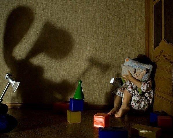 Страхи маленького ребенка