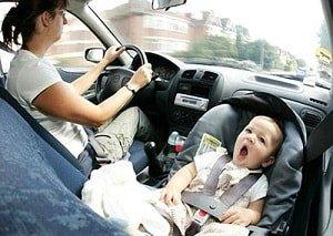 В отпуск на автомобиле с малышом