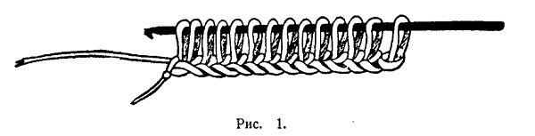 Вязание длинным крючком 1
